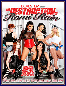 The Destruction of Romi Rain Porn DVD