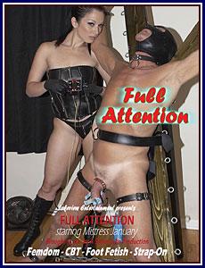 Full Attention Porn DVD