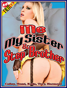 Me, My Sister and Step Brother Porn DVD