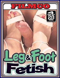Leg and Foot Fetish 20 Hrs 4-Pack Porn DVD