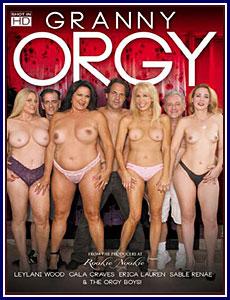 Granny Orgy Porn DVD