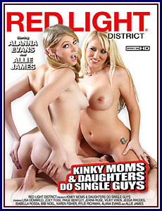 Kinky Moms and Daughters Do Single Guys Porn DVD