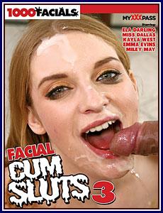 Facial Cum Sluts 3 Porn DVD