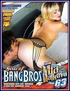 Girls of Bang Bros 63 Porn DVD