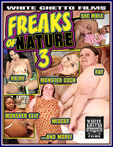 Freaks of Nature 3 Porn DVD