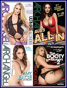 Angela White 4-Pack 2016 Adult DVD Empire
