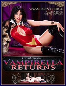 Vampirella Returns Porn DVD