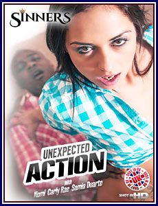 Unexpected Action Porn DVD