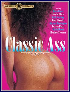 Classic Ass Porn DVD