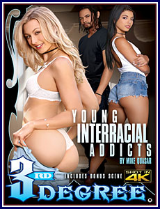 Young Interracial Addicts Porn DVD
