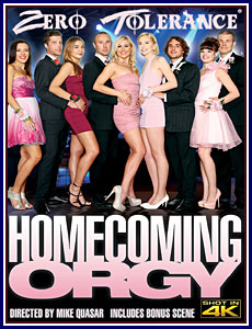 Homecoming Orgy Porn DVD