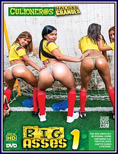 Big Asses (Nalgas Grandes) Porn DVD