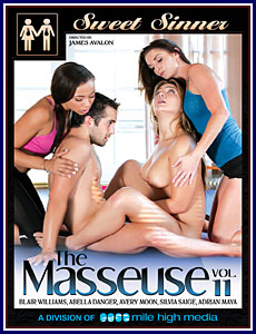 The Masseuse 11 Porn DVD
