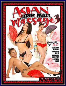 Asian Strip Mall Massage 3 Porn DVD