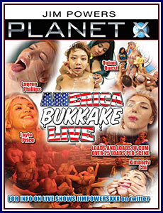 America Bukkake Live Porn DVD