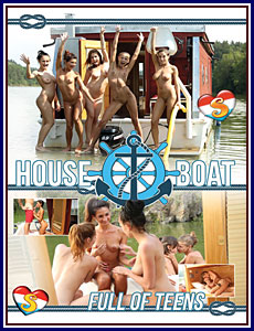 House Boat Full of Teens Porn DVD