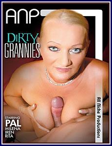 Dirty Grannies Porn DVD