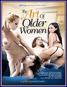 The Art of Older Women Porn DVD