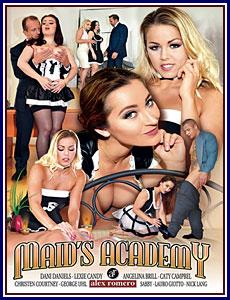 Maid's Academy Porn DVD