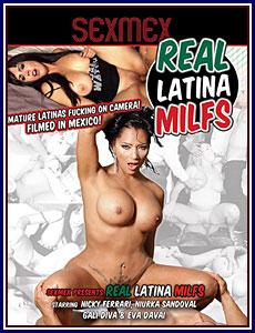 Real Latina MILFs Porn DVD