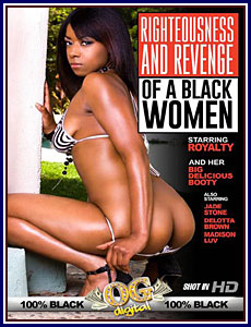 Righteousness and Revenge of A Black Women Porn DVD