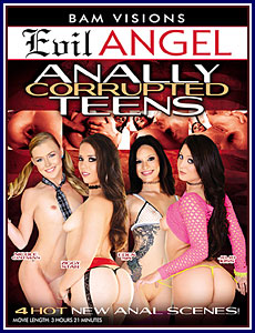 Anally Corrupted Teens Porn DVD