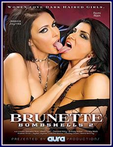 Brunette Bombshells 2 Porn DVD
