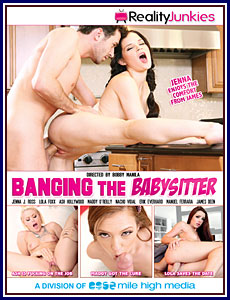 Banging The Babysitter Porn DVD