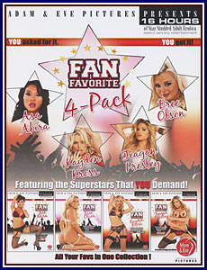 Fan Favorite 4-Pack Porn DVD