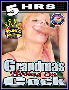 Grandmas Hooked On Cock 5 Hrs Porn DVD