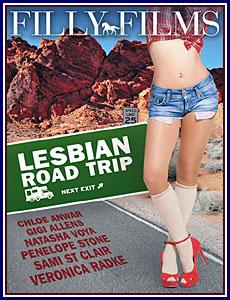 Lesbian Road Trip Porn DVD