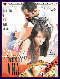 Daddy Made Me Do Anal Porn DVD