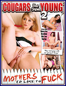 Cougars Like Them Young 2 Porn DVD