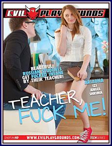 Teacher Fuck Me Porn DVD