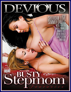 Busty Stepmom Fantasies Porn DVD