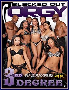 Blacked Out Orgy Porn DVD