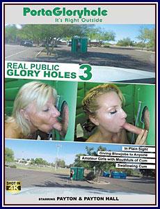 Real Public Glory Holes 3 Porn DVD