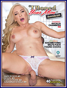 I Boned Your Mom Hardcut Porn DVD