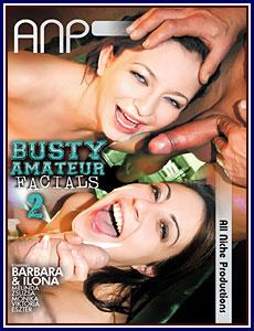 Busty Amateur Facials 2 Porn DVD