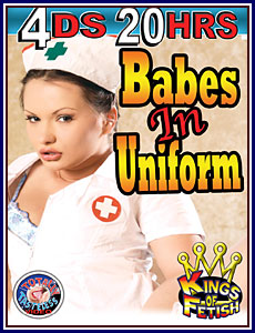 Babes in Uniform 20 Hrs 4-Pack Porn DVD
