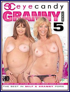 Granny Fuckers 5 Porn DVD