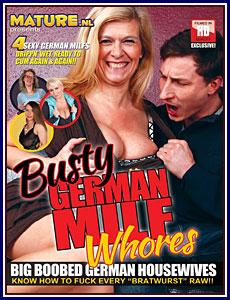 Busty German MILF Whores Porn DVD