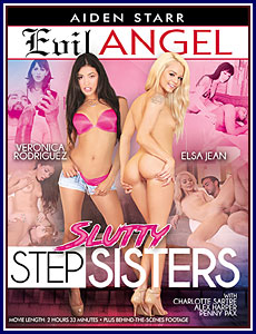 Slutty Stepsisters Porn DVD