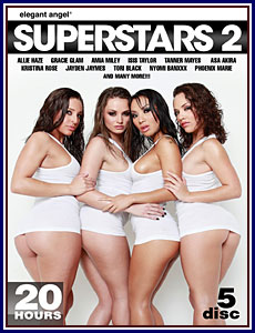 Superstars 2 5-Pack Porn DVD