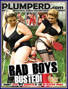 Bad Boys Busted Porn DVD