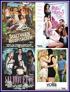 Skow For Girlfriends Films 3 4-Pack Porn DVD