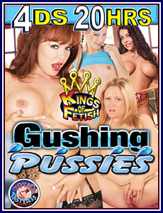 Gushing Pussies 20 Hrs 4-Pack Porn DVD