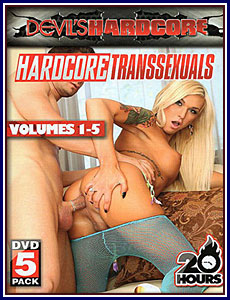 Hardcore Transsexuals Volumes 1-5 Porn DVD