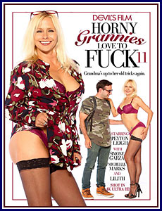 Horny Grannies Love To Fuck 11 Porn DVD