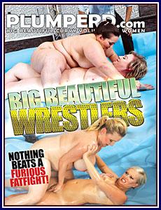 Big Beautiful Wrestlers Porn DVD